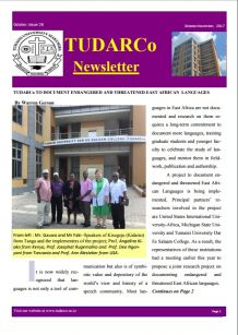 TUDARCo Newsletter Issue 26 October 2017